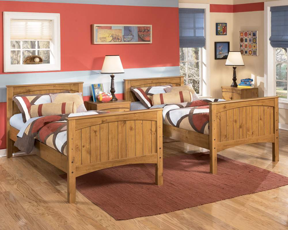 Image of: wood twin bedroom furniture sets
