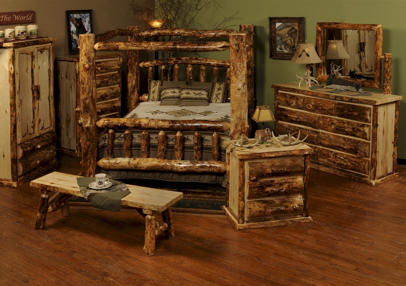Image of: Aspen bedroom furniture set