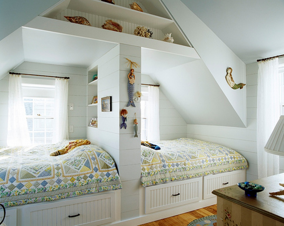 Image of: Creative twin bedroom ideas