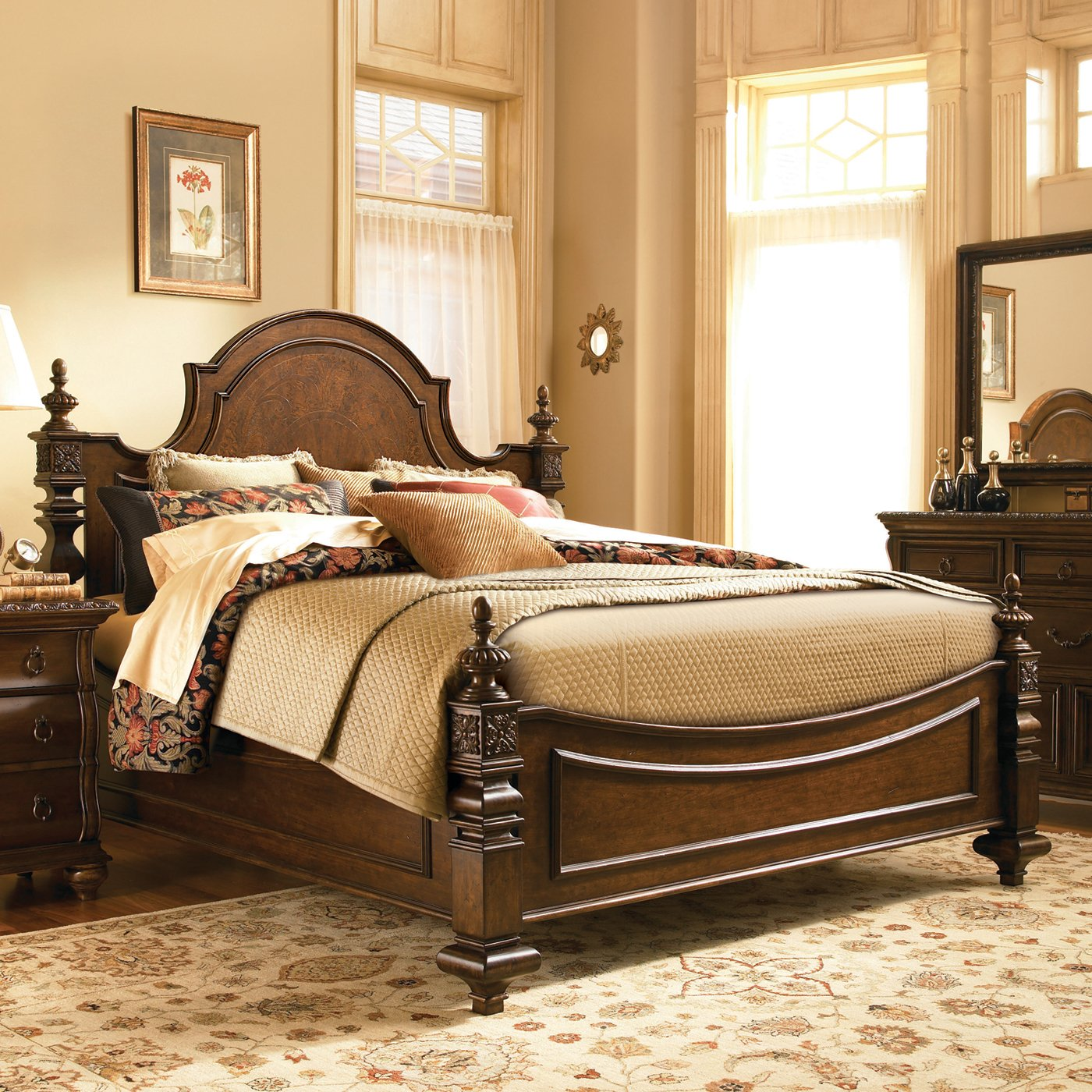 Image of: Latest paula deen bedroom furniture