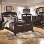 Luxury ashley porter bedroom set