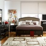 Modern ashley porter bedroom set