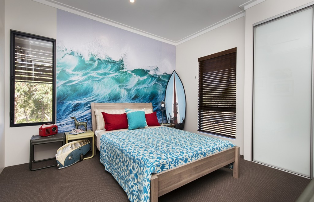 Image of: beach themed bedrooms decor