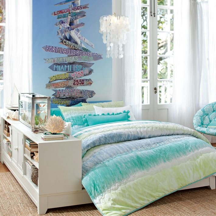 Image of: beach themed bedrooms ideas