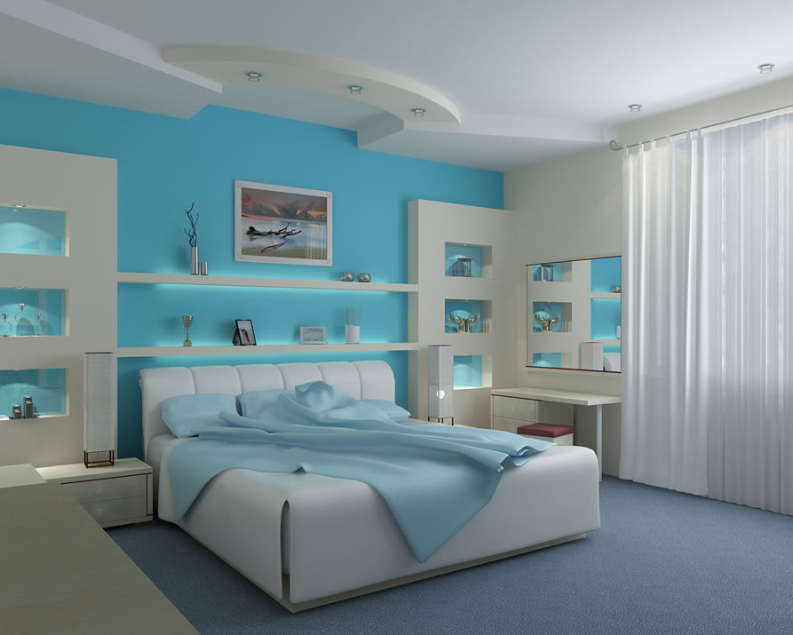 Image of: beach themed bedrooms