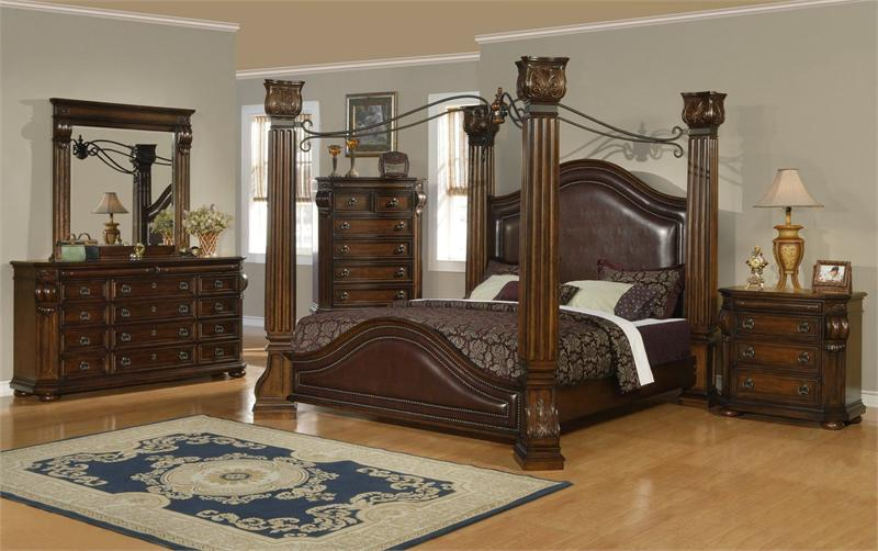 Image of: canopy bedroom sets girls