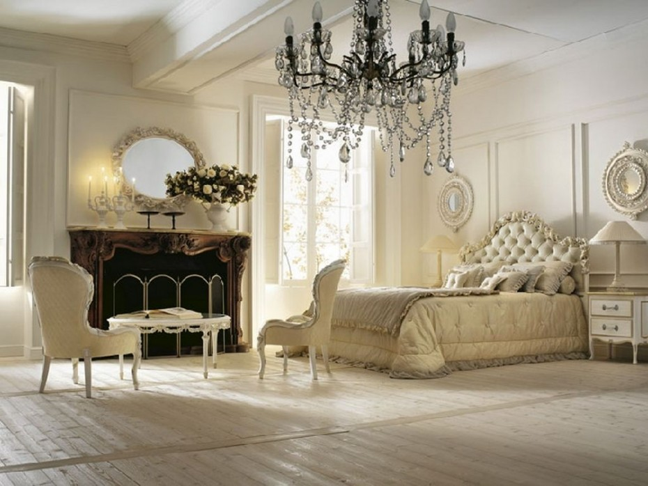 Image of: french provincial bedroom furniture decoration