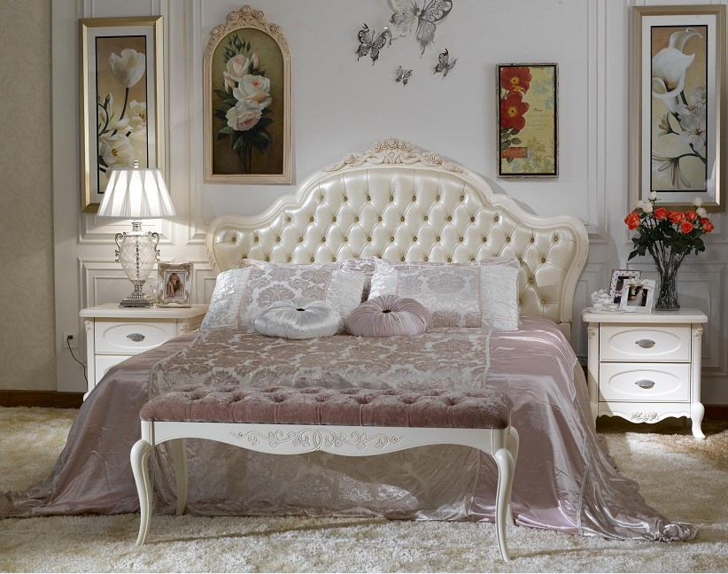 Image of: french provincial bedroom furniture ideas