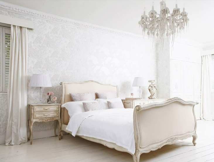 Image of: french provincial bedroom furniture