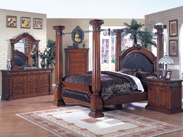 Image of: ideas of canopy bedroom sets