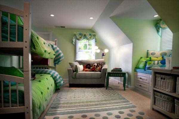 Image of: twin bedroom ideas design