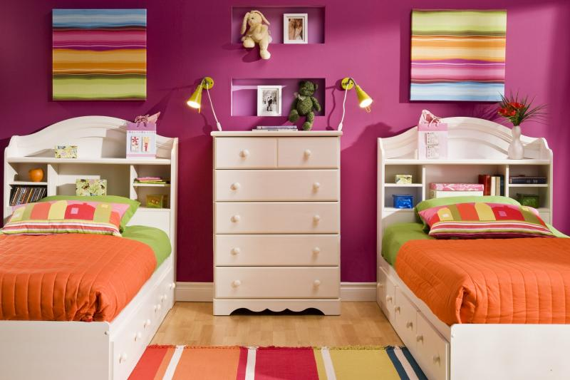 Image of: Twin Bedroom Ideas for Kids