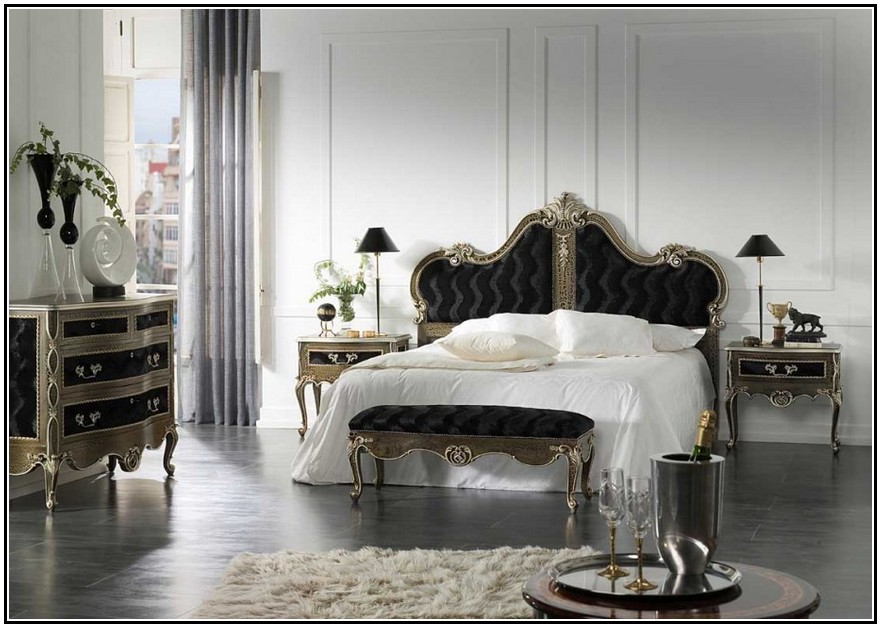 Image of: white french provincial bedroom furniture
