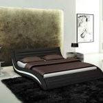 Black Contemporary Bed Frames