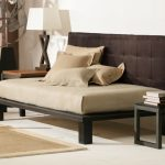 Brown Contemporary Daybed