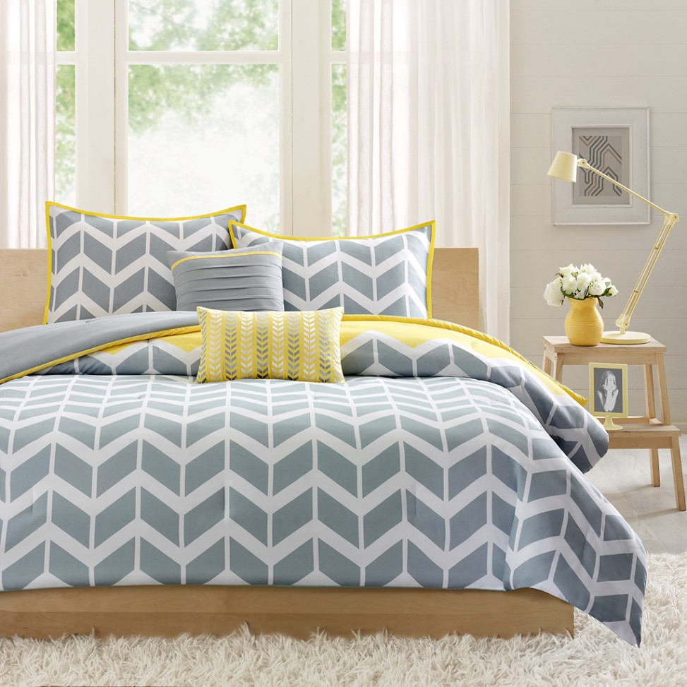 Image of: Chevron Contemporary Bedding Sets