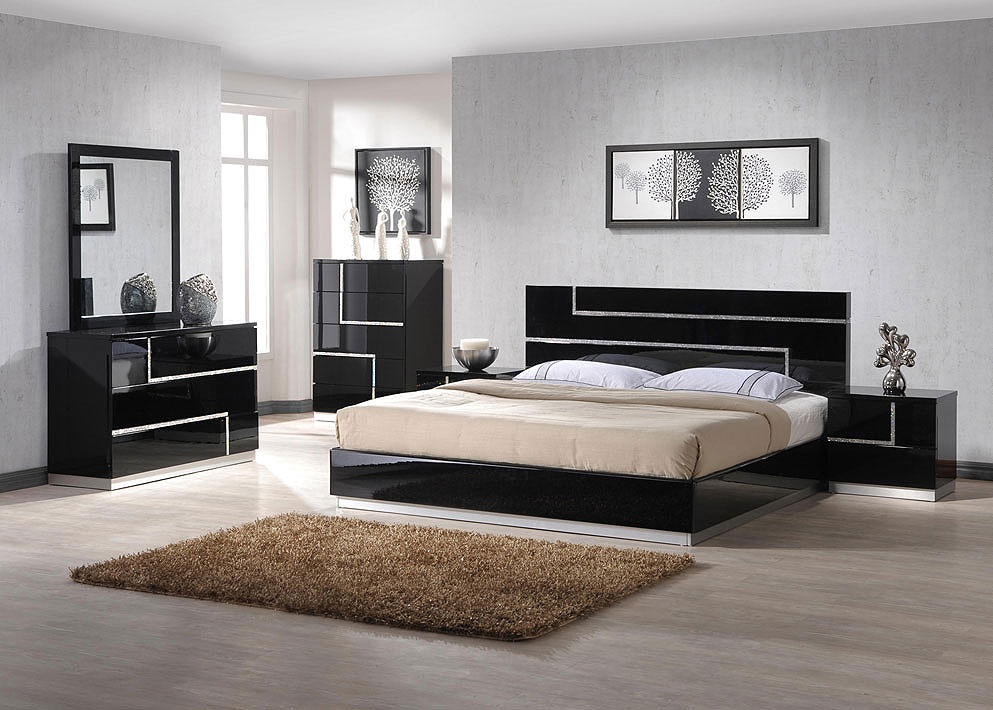 Image of: Contemporary Bed Set 2018