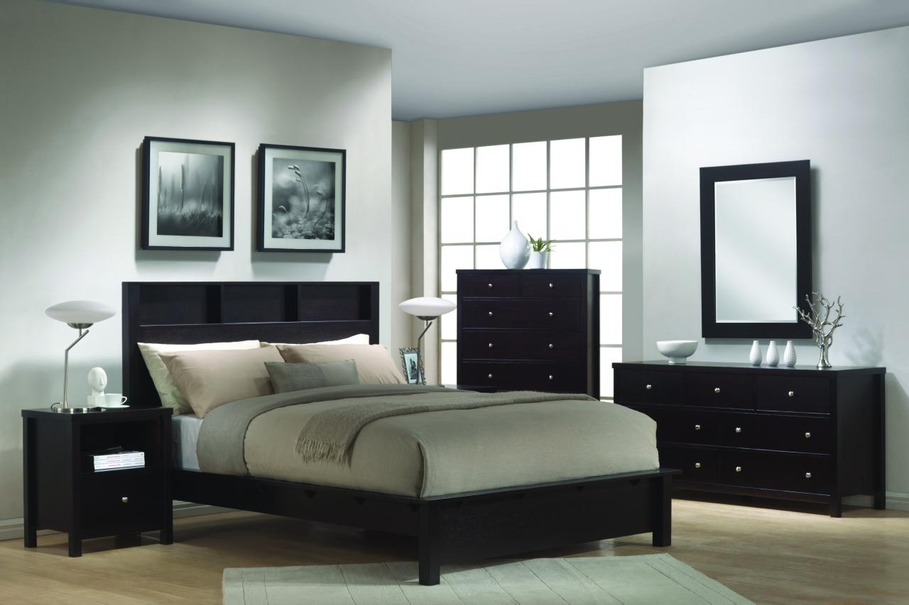 Image of: Contemporary Bed Set Design