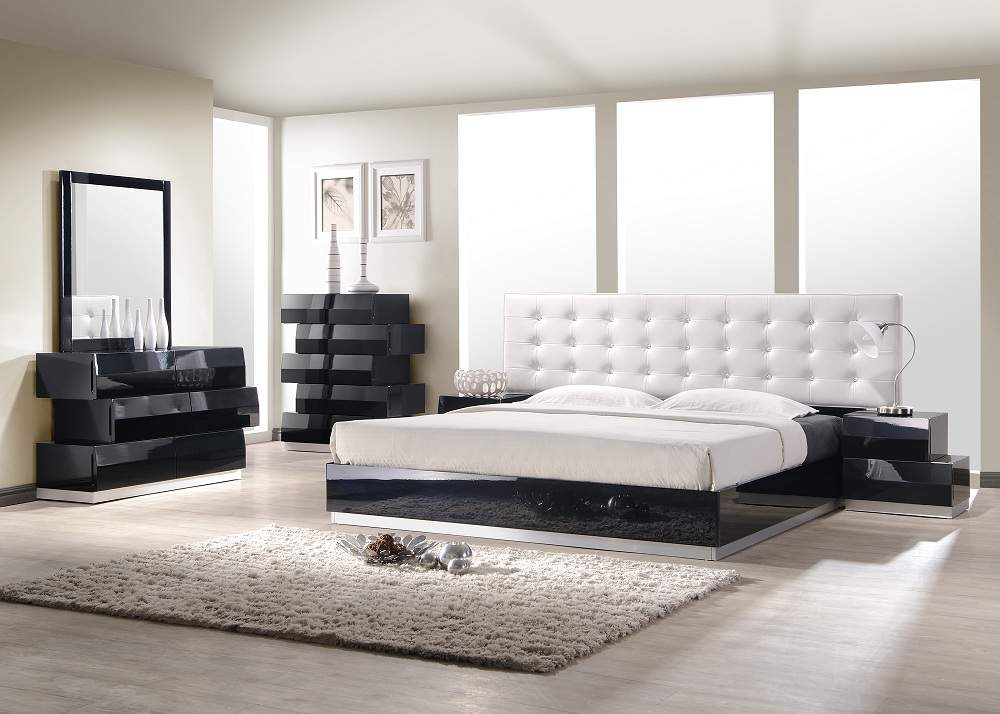 Image of: Contemporary Bed Set Elegant