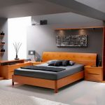 Contemporary Bed Set Picture