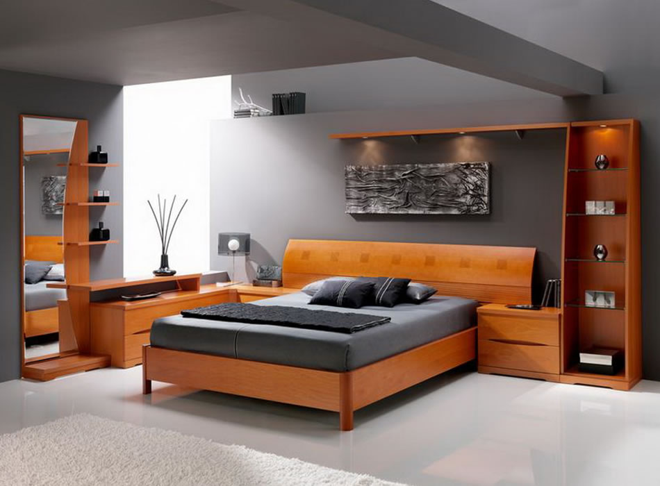 Image of: Contemporary Bed Set Picture