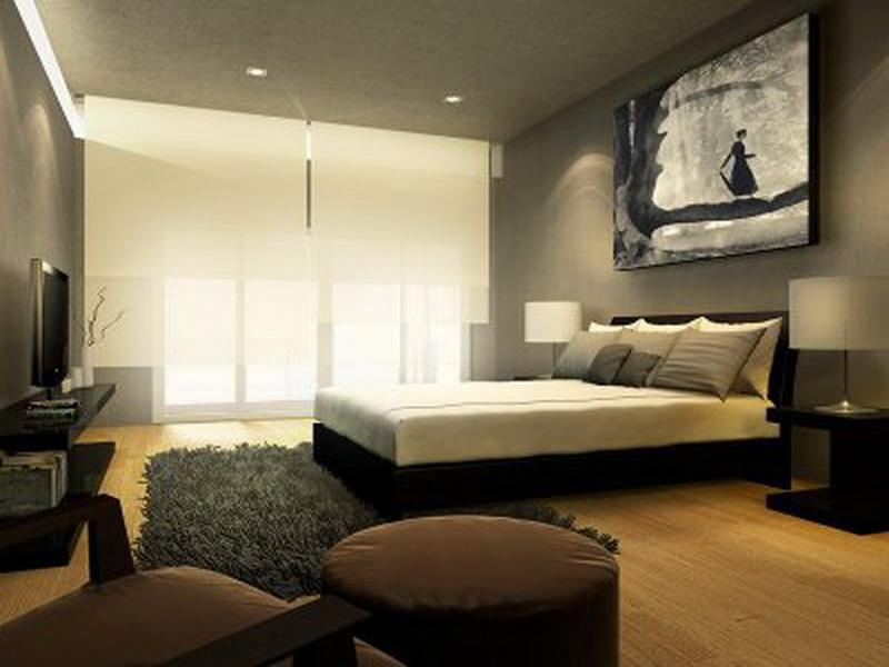 Image of: Contemporary Bedroom Decorating Ideas Pictures