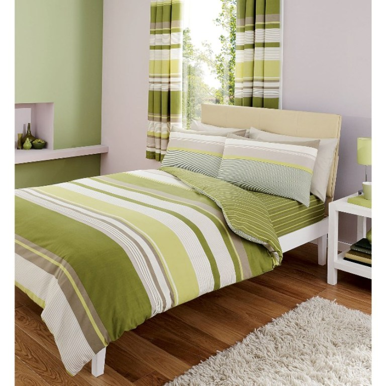 Image of: Contemporary Bedspreads Stripe