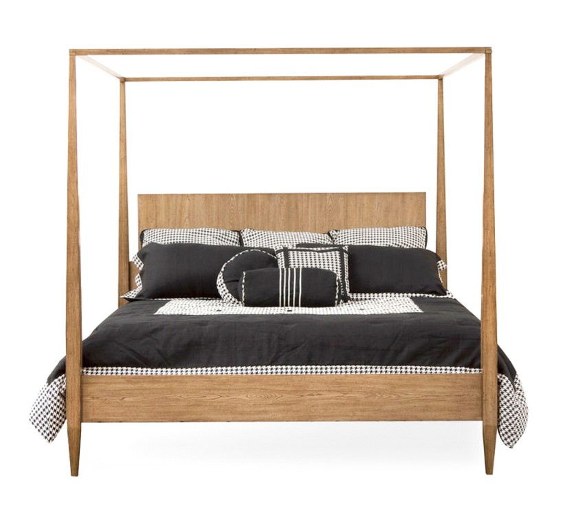Image of: Contemporary Canopy Bed Image
