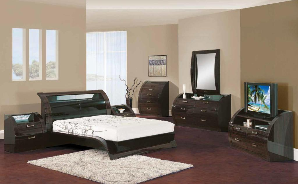 Image of: Contemporary King Bedroom Sets Furniture