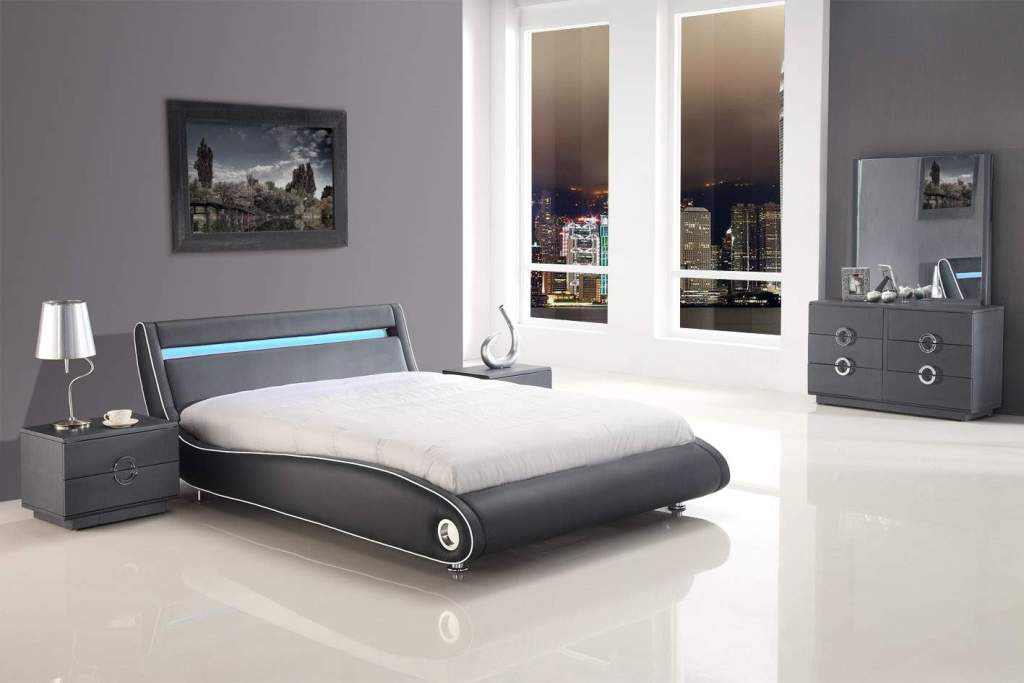 Image of: Contemporary King Bedroom Sets Ideas