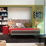 Contemporary Murphy Beds with Desk