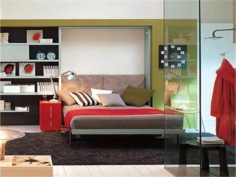 Image of: Contemporary Murphy Beds with Desk