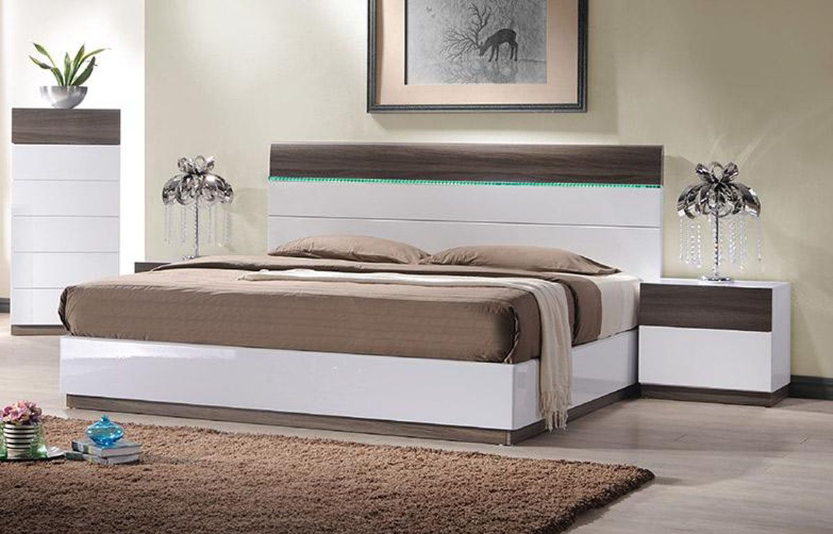 Image of: Contemporary Platform Beds Storage