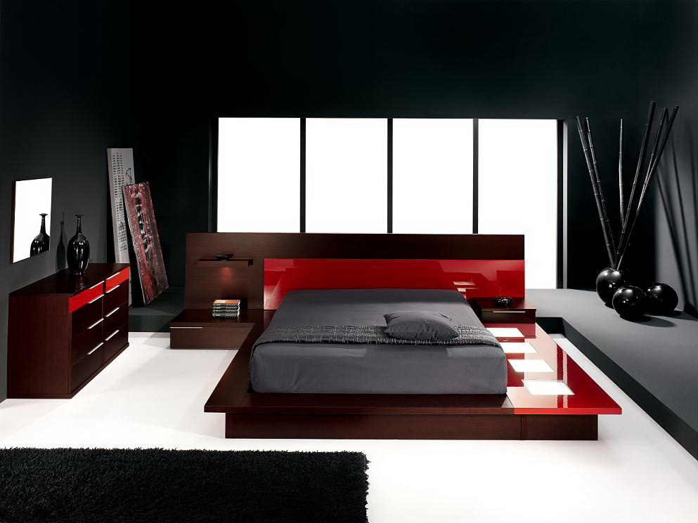 Image of: Contemporary Style Bedroom Ideas