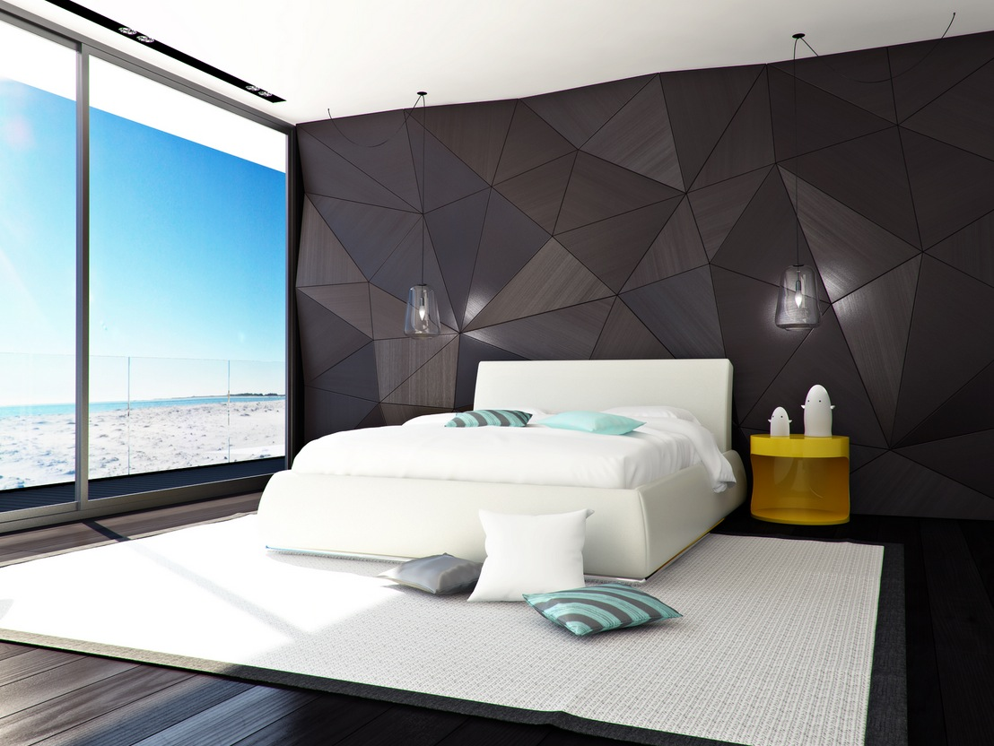 Image of: Contemporary bedroom decoration ideas design