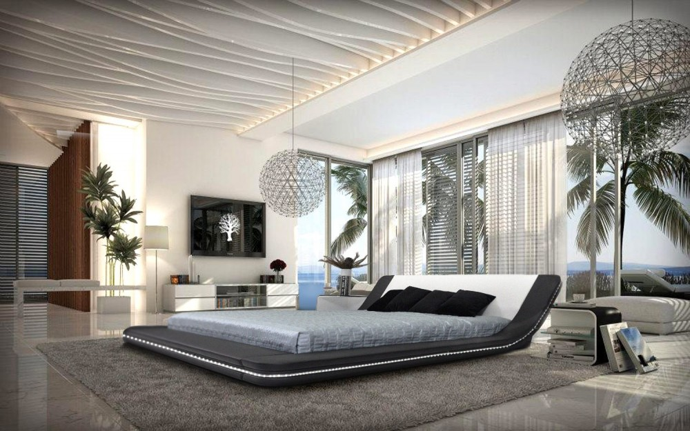 Image of: Design Contemporary Platform Beds