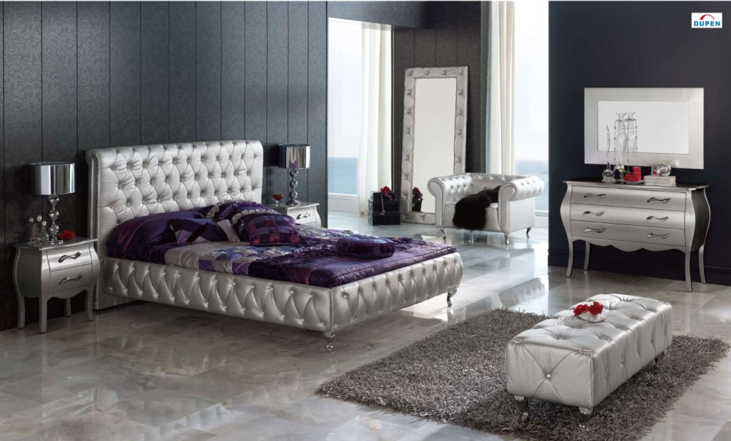 Image of: Famous Contemporary King Bedroom Sets