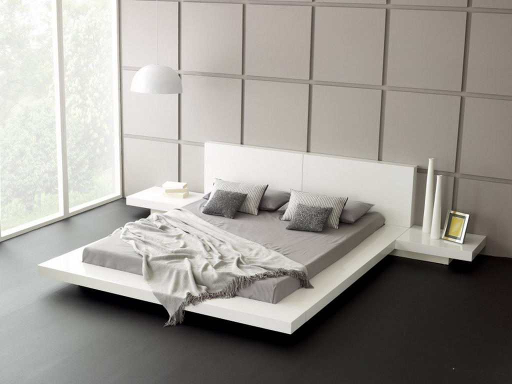 Image of: Furniture Contemporary Bed Frames