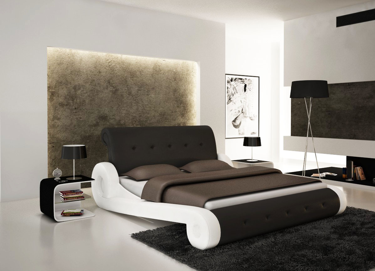 Image of: Gallery Contemporary Bed Frames