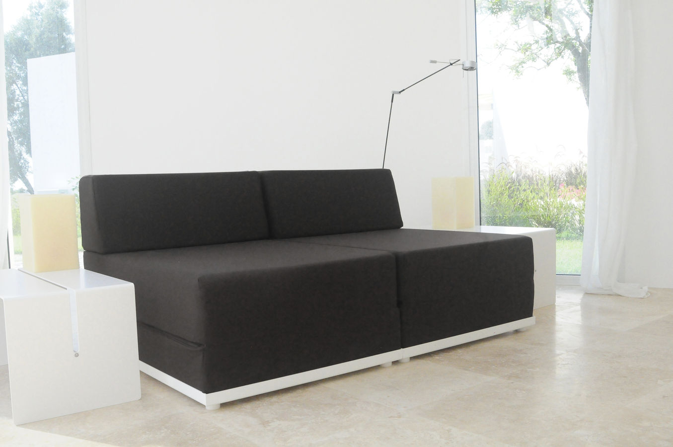Image of: Gallery Contemporary Sofa Bed