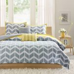 Gray Contemporary Bedspreads