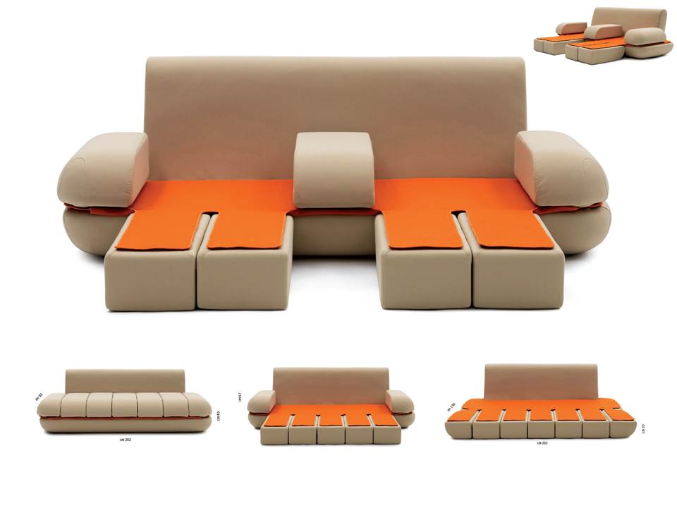 Image of: Italian Contemporary Sofa Bed