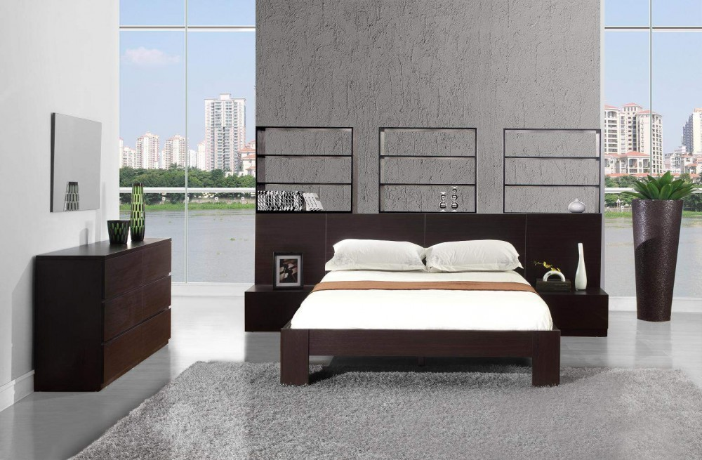 Large Contemporary Platform Beds