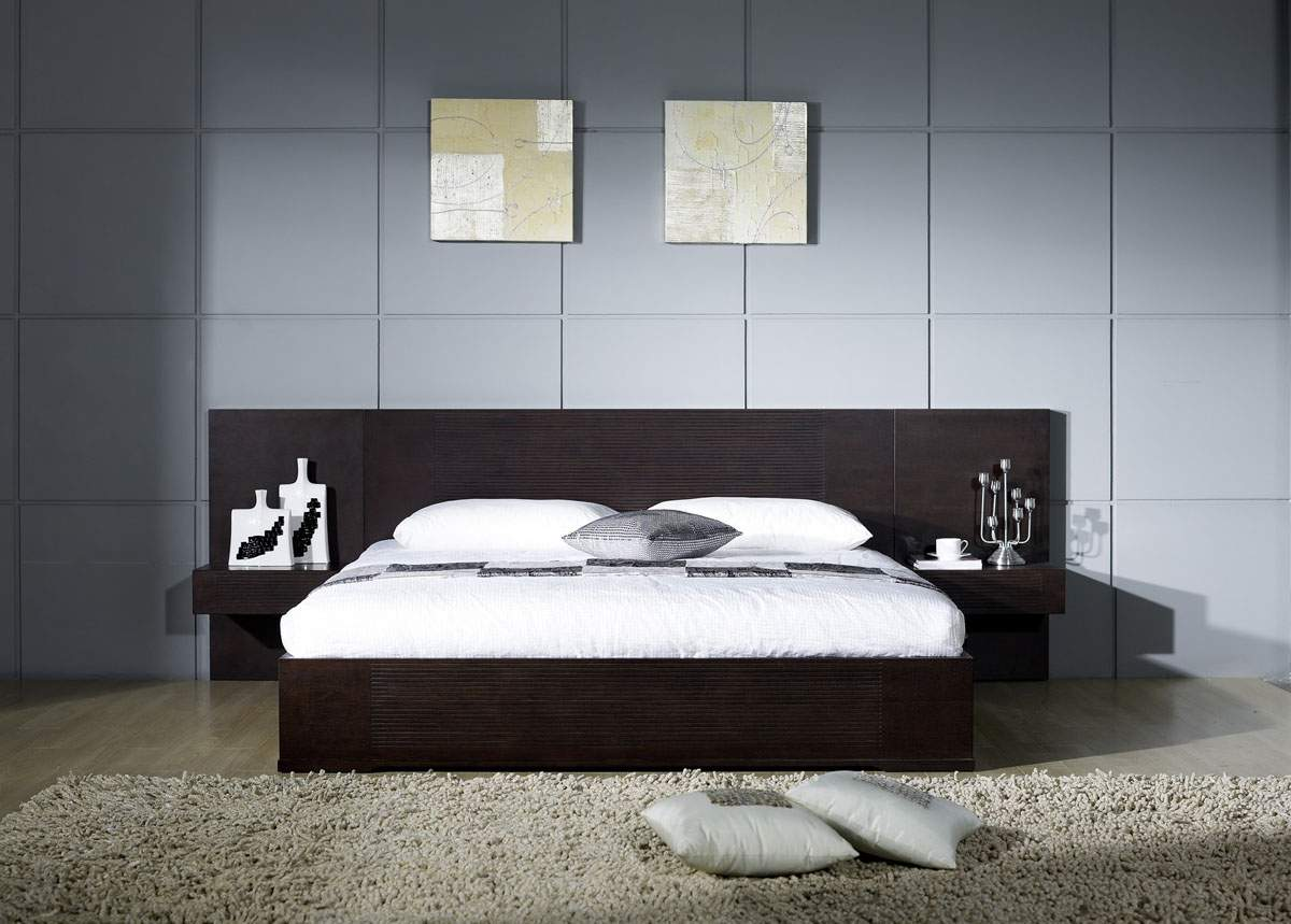 Image of: Modern Contemporary Bed Frames