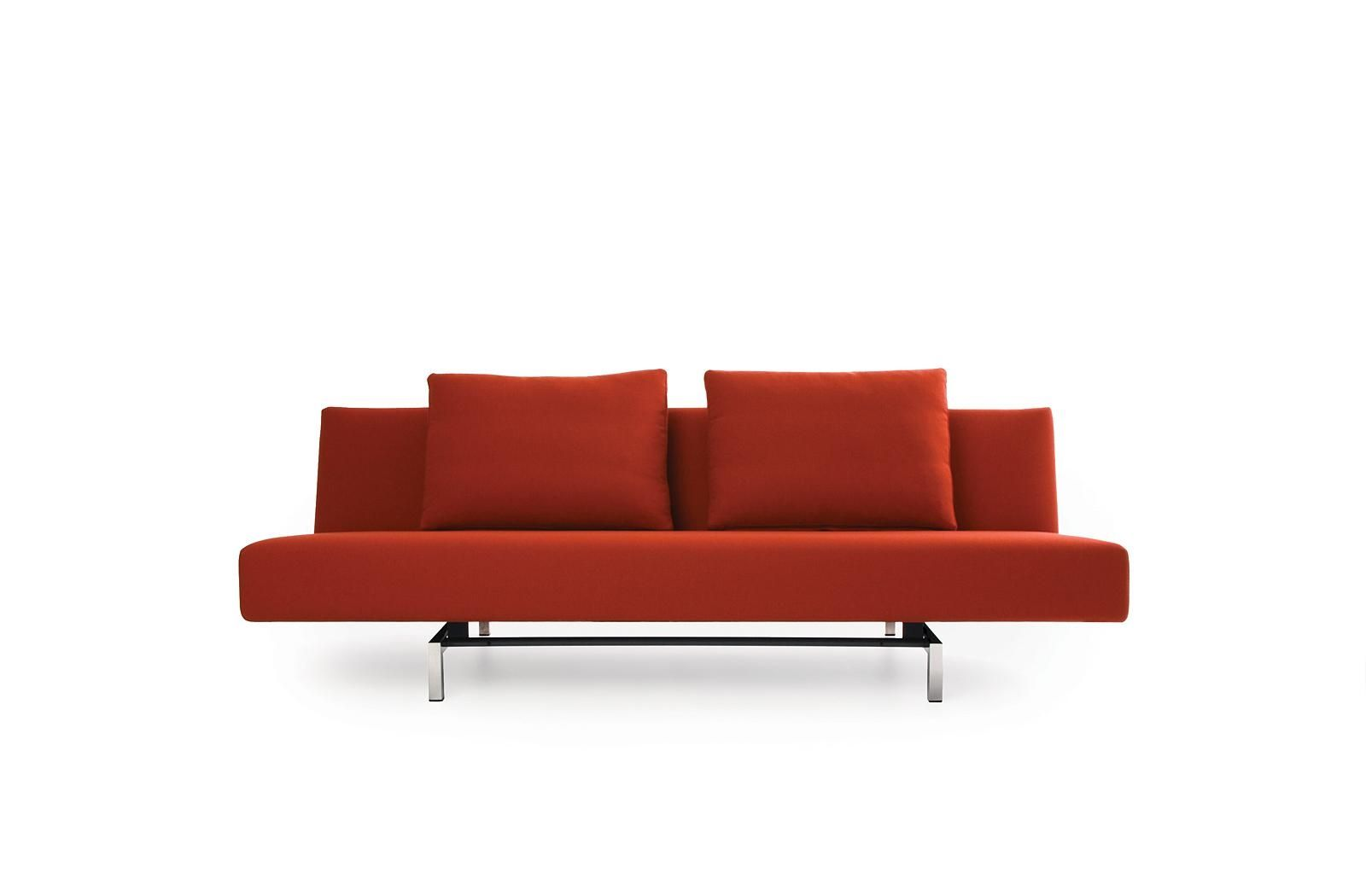 Image of: Red Contemporary Sofa Bed
