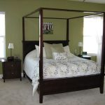 Simple Contemporary Canopy Bed