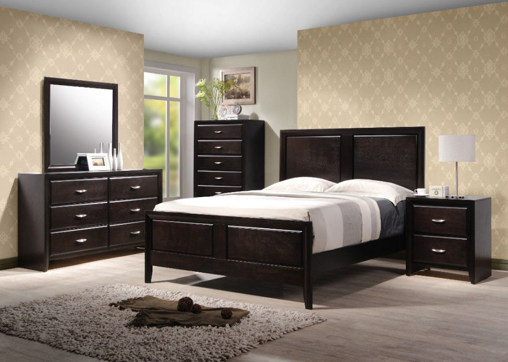 Image of: Simple Contemporary King Bedroom Sets
