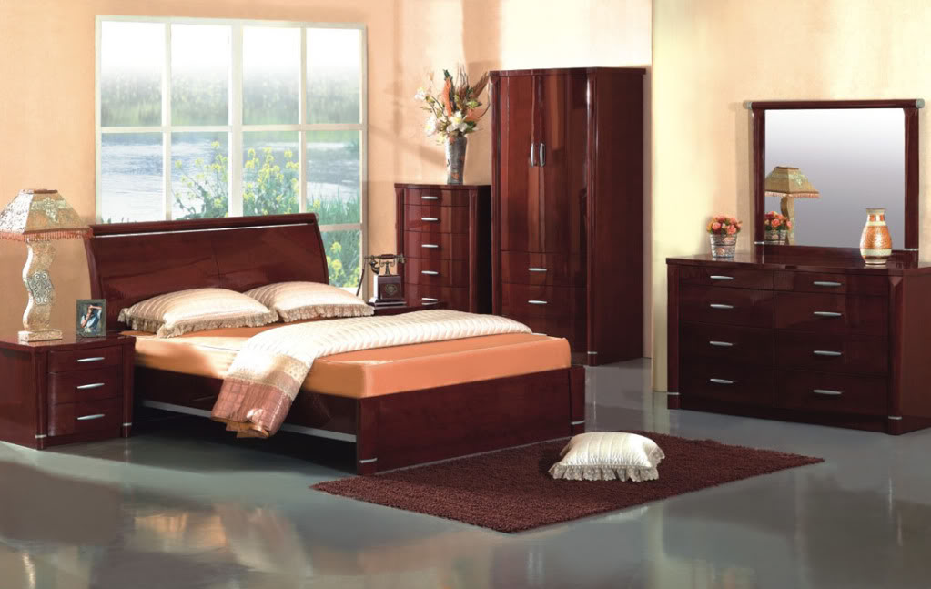 Top Contemporary Bed Set