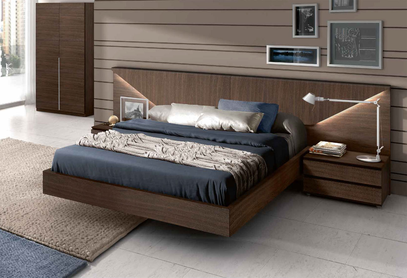 Image of: Traditional Contemporary Bed Frames