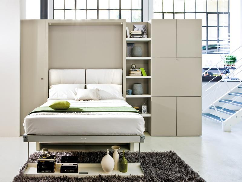 Image of: Twin Contemporary Murphy Beds
